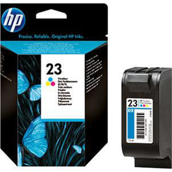 HP inktcardridge 23 3-color, 30ml