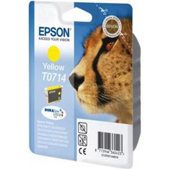 Epson T0714 geel, volume gekleurde inkt 5.5ml