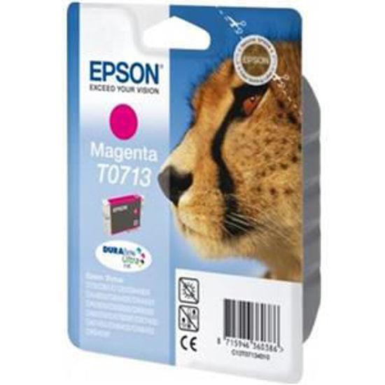 Epson T0713 magenta, volume gekleurde inkt 5.5ml