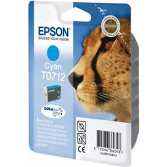 Epson T0712 cyaan, volume gekleurde inkt 5.5ml