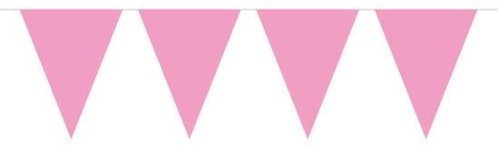 vlaggenlijn baby roze