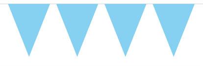 vlaggenlijn baby blauw